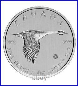 Silbermünze Kanada Canada 2020 Goose Gans 10 Dollars 2 oz (Feinsilber 62,28 g)
