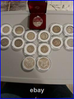 Silver Coins And. 999 Bullion Collection Forsale Must See