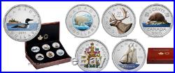Six-Coin Big Coin Series canada 2016 5 oz. Fine Silver